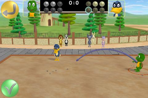Screenshot Petanque Toons 3D Lite