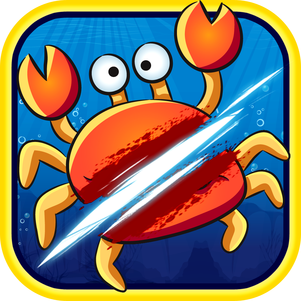 Crab Crush Fighter - Addictive Fast Slicing Game by Woman